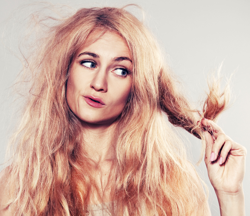 درمان موی وز