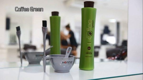 نانو کراتین قهوه سبز هونما