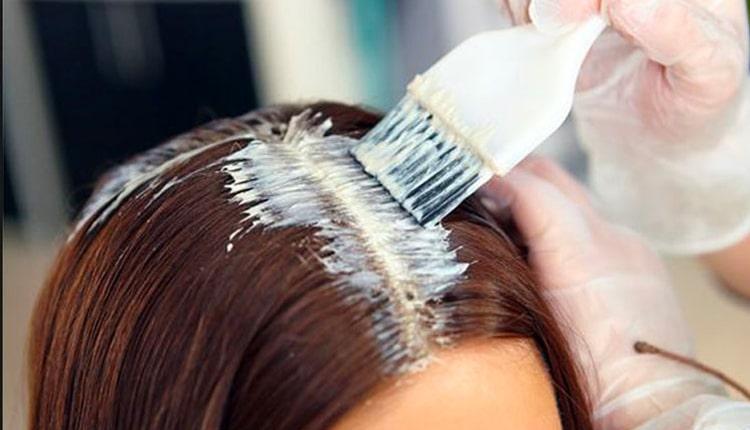آموزش رنگ کردن مو با رنگ های شیمیایی