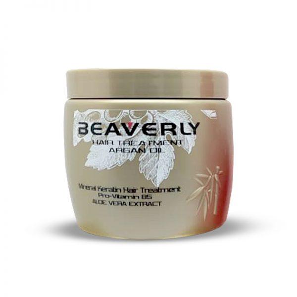 ماسک موی کراتینه بیورلی حاوی روغن آرگان Beaverly حجم 500ml