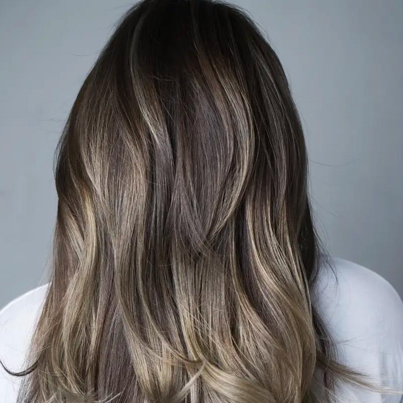 موهای رنگ شده