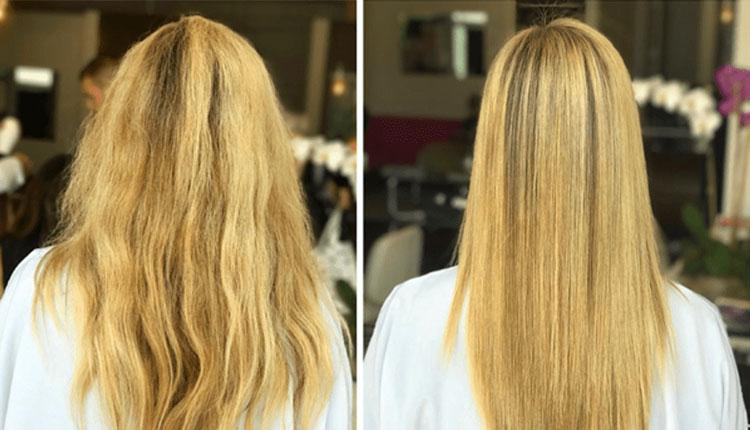 مراقبت بعد از کراتینه کردن مو